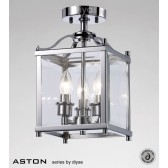 Diyas Aston Semi Flush 3 Light Polished Chrome