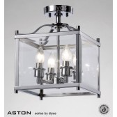 Diyas Aston Semi Flush 4 Light Polished Chrome