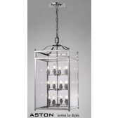 Diyas Aston Pendant 12 Light Polished Chrome