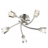 Austin 5 Light Semi Flush