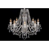 Bohemian BCC08ANS Leaded Crystal Chandelier - 8-Light