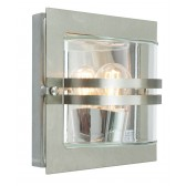 Norlys BERN E27 S/S F Bern Wall Light E27 Stainless Steel Frosted