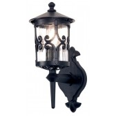 Elstead BL10 BLACK Hereford Wall Up Lantern