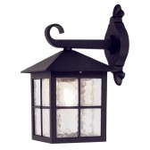 Elstead BL18 BLACK Winchester Wall Down Lantern