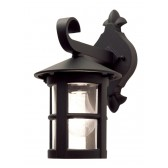 Elstead BL21 BLACK E27 Hereford Wall Down Lantern