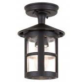 Elstead BL21/G BLACK Hereford Grande Wall Down Lantern