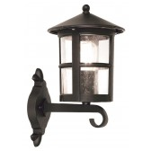 Elstead BL22/G BLACK Hereford Grande Wall Up Lantern
