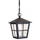 Elstead BL48M BLACK Hereford Grande Wall Down Lantern