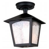 Elstead BL6A BLACK York Rigid Tube Lantern