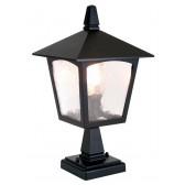 Elstead BL7 BLACK York Pedestal Lantern