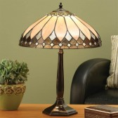 Interiors1900 Brooklyn Table Lamp with Solid Brass Base
