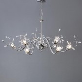 Interiors1900 Capella 9-Light Dual Mount Chandelier