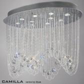 Diyas Camilla Ceiling 10 Light Polished Chrome/Crystal