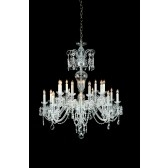 Impex Prague Chandelier - 18 Light