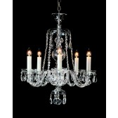 Impex Kladno Chandelier - 5 Light