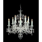 Impex Frydek Chandelier - 10 Light