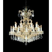 Impex Misto Chandelier - 25 Light