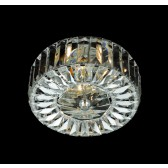 Impex Seville Ceiling Light Chrome - 2 Light