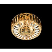 Impex Seville Ceiling Light Gold - 2 Light
