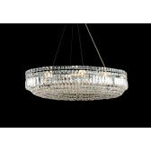Impex Olovo Chandelier Chrome - 12 Light