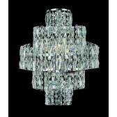 Impex New York Wall Light Chrome - 3 Light