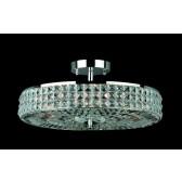 Impex Murcia Ceiling Light Chrome - 4 Light
