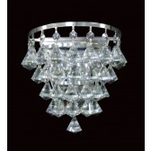 Impex Parma Wall Light Chrome - 1 Light