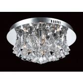 Impex Parma Ceiling Light - 4 Light, Polished Chrome