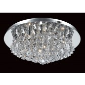 Impex Parma Ceiling Light - 8 Light, Polished Chrome