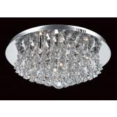Impex Parma Ceiling Light - 8 Light, Polished Chrome