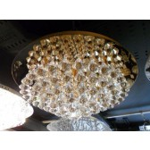 Impex Parma Ceiling Light Gold - 8 Light, Gold