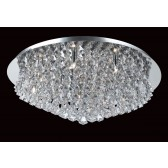 Impex Parma Ceiling Light - 12 Light, Polished Chrome