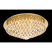 Impex Parma Ceiling Light Gold - 12 Light