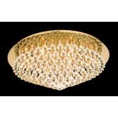 Impex Parma Ceiling Light Gold - 12 Light