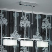 Clef Telescopic Ceiling Light - 3 Light Bar Fitting