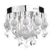 Cloud 9 baubles ceiling light