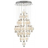 Cloud 21 Light Chrome & Crystal Pendant