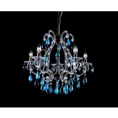 Impex Versailles Chandelier Rustic Bronze - 5 Light