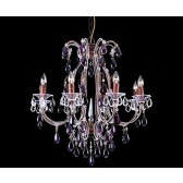 Impex Versailles Chandelier Rustic Bronze - 8 Light