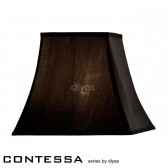 Diyas Contessa Medium Square Shade 1 Light Black