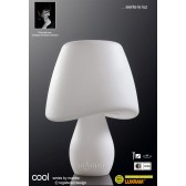 Cool Table Lamp 2 Light Outdoor IP65 White