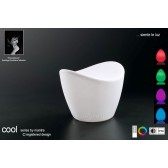 Cool Stool Rechargable LED RGB Outdoor IP65 White