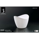 Cool Stool No Light Outdoor White