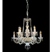 Impex Modra Chandelier - 12 Light, Polished Chrome