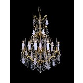 Impex Montmartre Chandelier French Gold - 6 Light