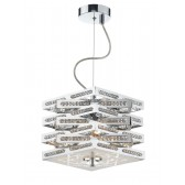 Cube 3 Light Pendant Polished Chrome