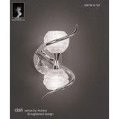 Dali Wall Lamp 2 Lights Polished Chrome