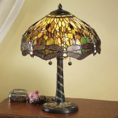 Interiors1900 Green Dragonfly Large Table Lamp