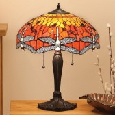 Interiors1900 Dragonfly Flame Large Table Lamp