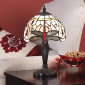 Interiors1900 Beige Dragonfly Small Table Lamp
